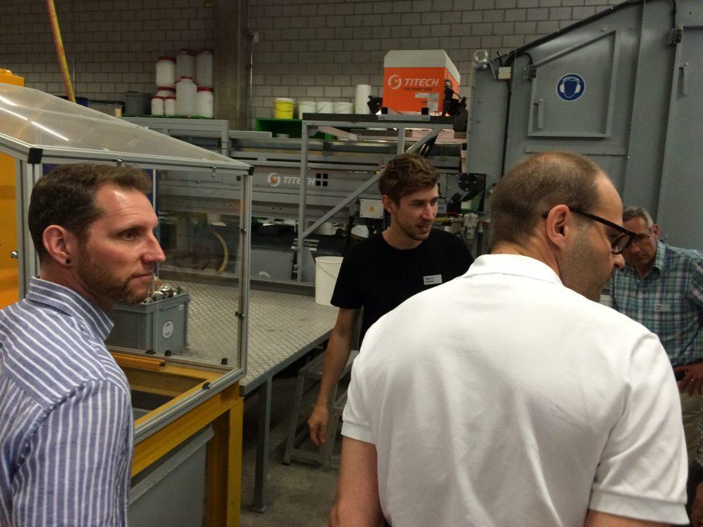 ERFA Maschinenbau CH, Kurs Handyrecycling an der HSR
